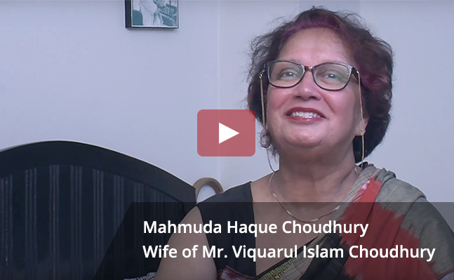 Testimonial of Mahmuda Haque